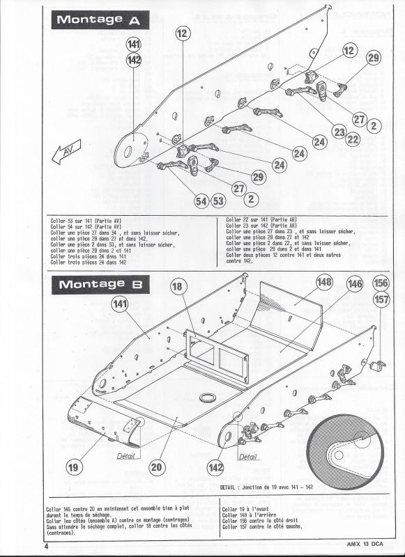 AMX 13 DCA - (Réf. L783) 1/35  240738AMX13DCA783005Heller135
