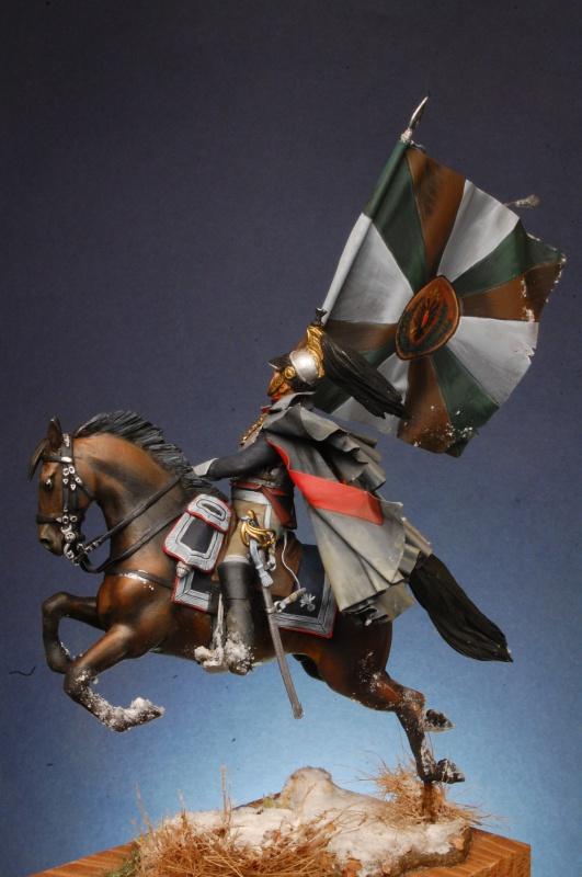 Jacquemin et le drapeau de Arkhangelogorod - Austerlitz 1805 242287FrancoisJacqueminAusterlitz180562