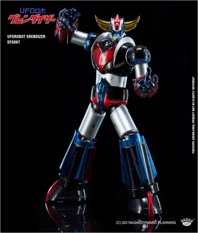 KING ARTS DIE-CAST GRENDIZER   242372DFS0673