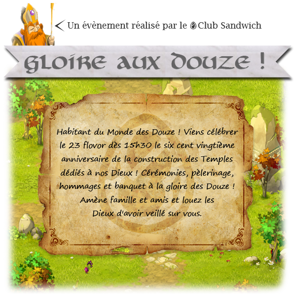 [Event inter-serveur] Gloire aux Douze ! 243232Affichedouze