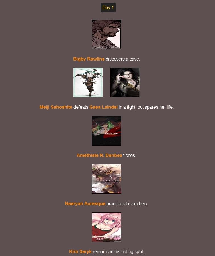 Quederla's Hunger Games 243252Day11