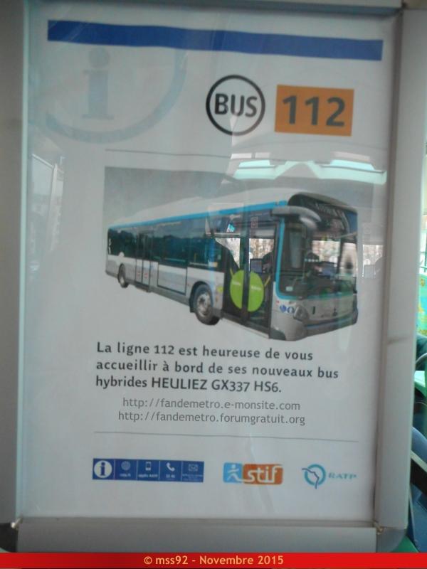 [RATP] GX 337 : Électrique, Hybride et GNV - Page 2 244993DSCN1228