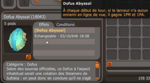 Items et modifs classes MàJ 2.35 246704dofusabyssal