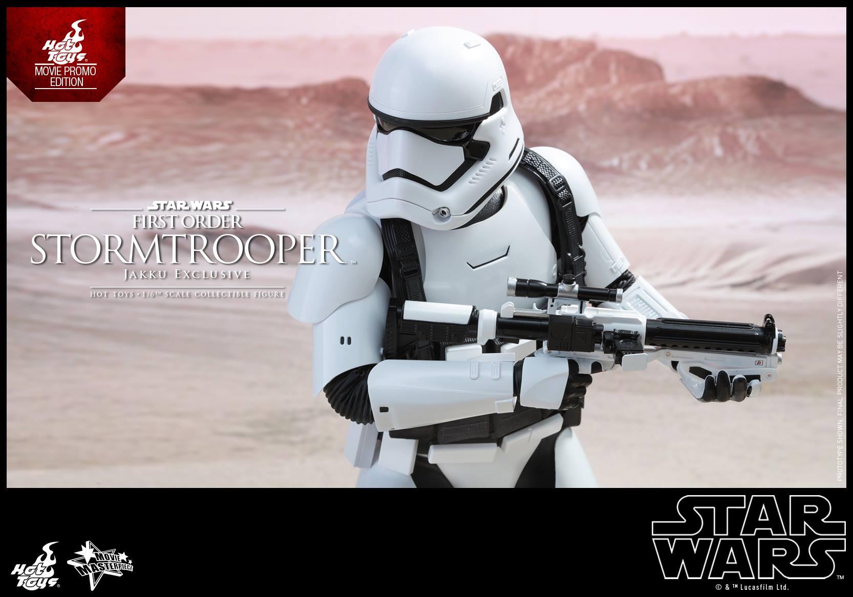 HOT TOYS - Star Wars: TFA - First Order Stormtrooper Jakku  246822110