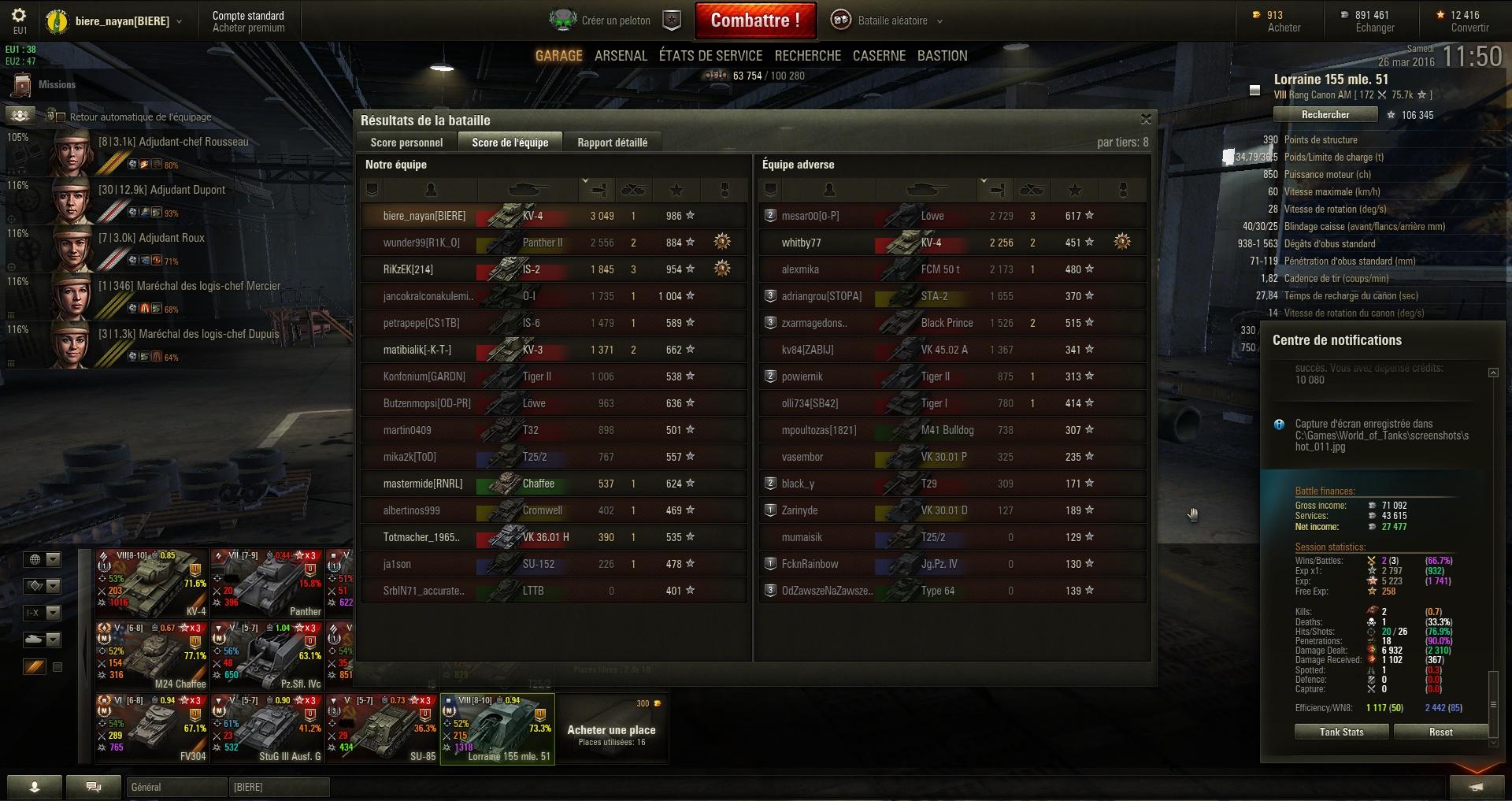Screenshots et rapports de batailles - Page 3 247033shot012
