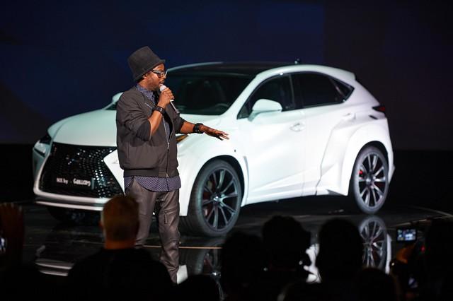 Un Lexus Déssiné Par WILL.I.AM Révélé Lors D'une Soirée Exclusive à Paris 247580LexusNX11