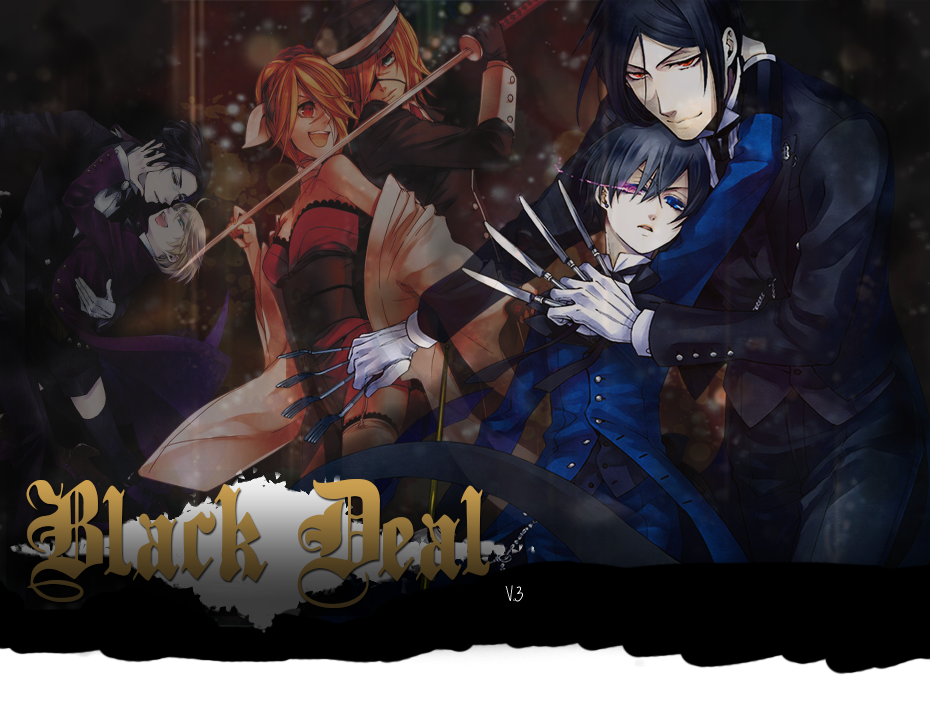 Black Butler : Black Deal RPG