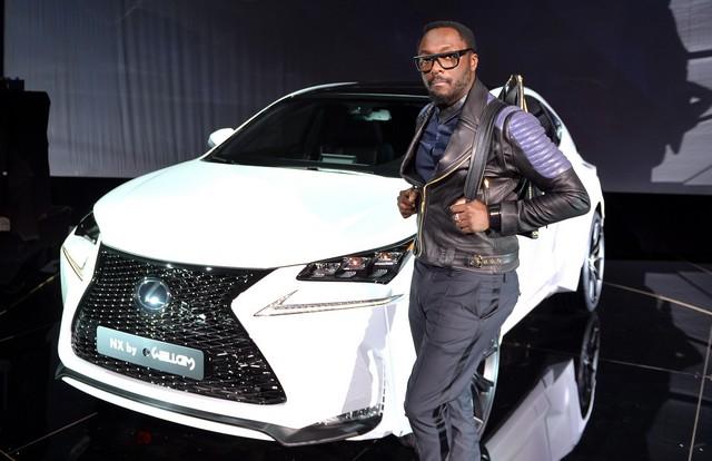 Un Lexus Déssiné Par WILL.I.AM Révélé Lors D'une Soirée Exclusive à Paris 248516LexusNX9