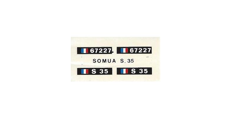 Somua S-35 (Réf. L793) 1/35 249839S35013