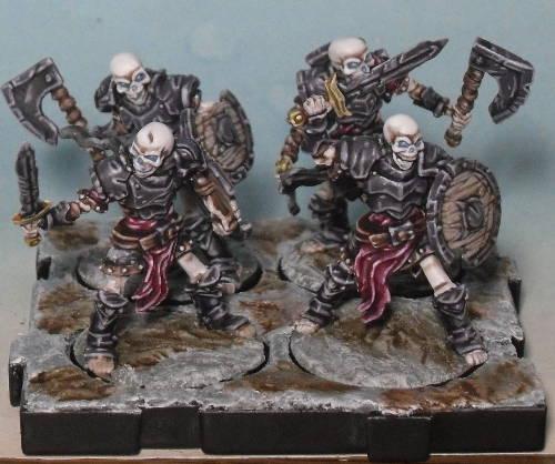 Peinture de mon armée de Mort-Vivants 249841Srie6socle