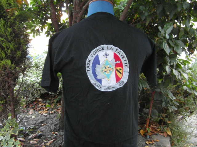 tee shirt TASK FORCE LAFAYETTE V 250285SAM0997