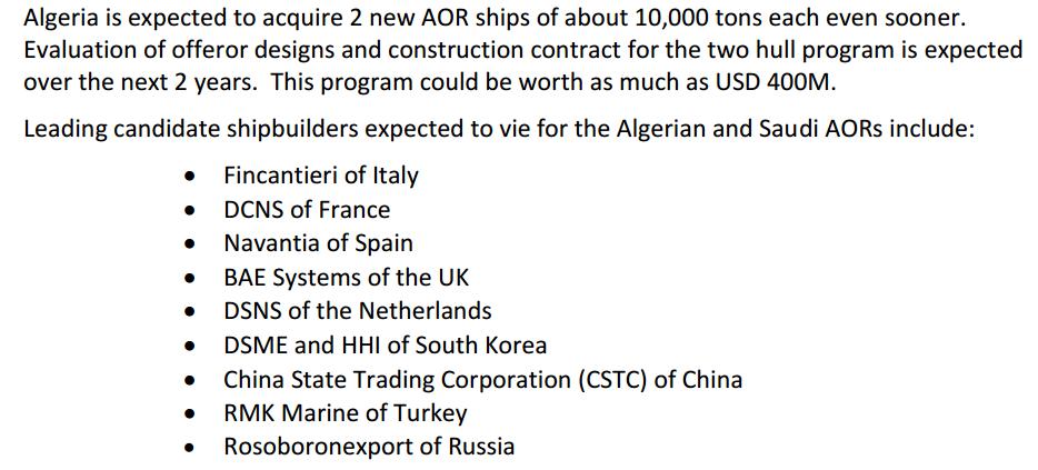 . الجزائر مفوضات للحصول على سفينتين جديدتين حوالي 10،000 طن  250291141
