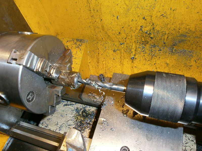 """Fabrication d'un """"bouchon"""" pour mon bac à copeaux pour récupérer le fuide de coupe 253122PB100038"""