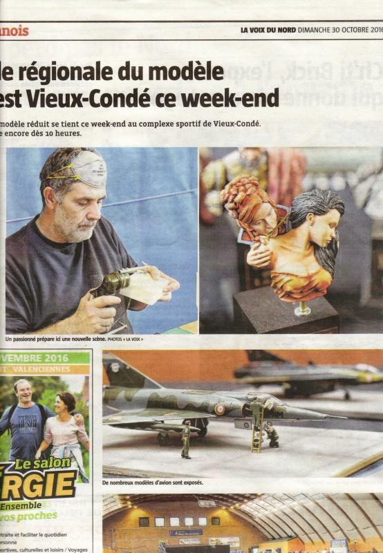 Expo VAUBAN 2016 : 29 et 30 octobre 2016 Vieux Condé 253143LaVoixduNord30102016