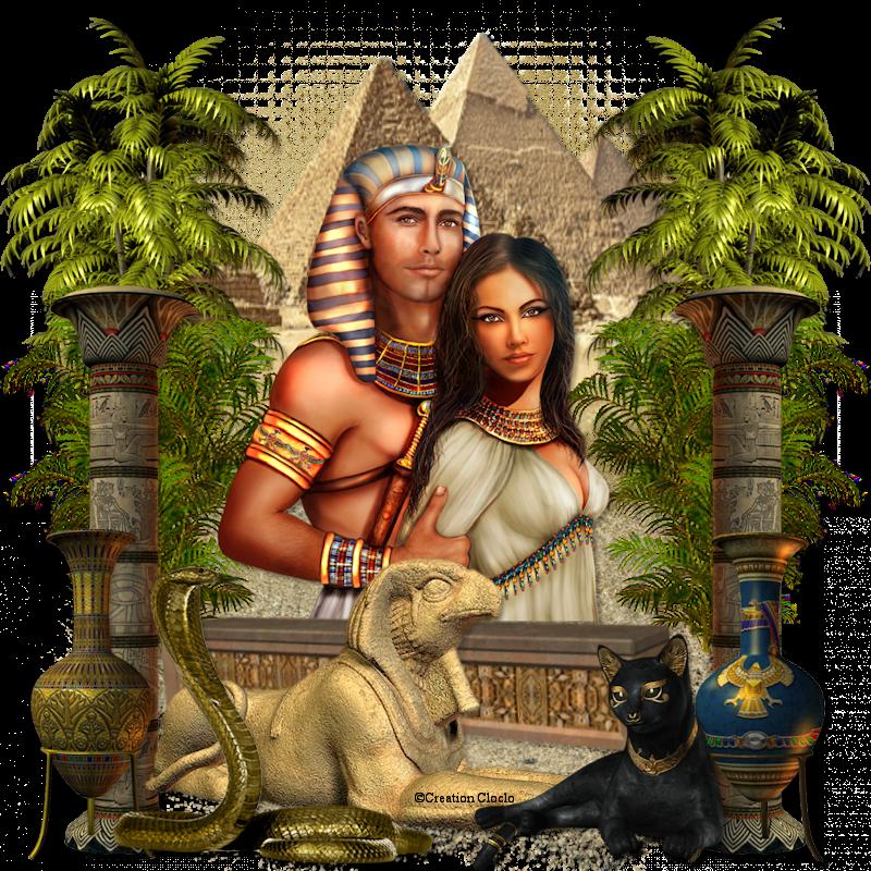 Couple royal Egyptien Cloclo 254124cloclo