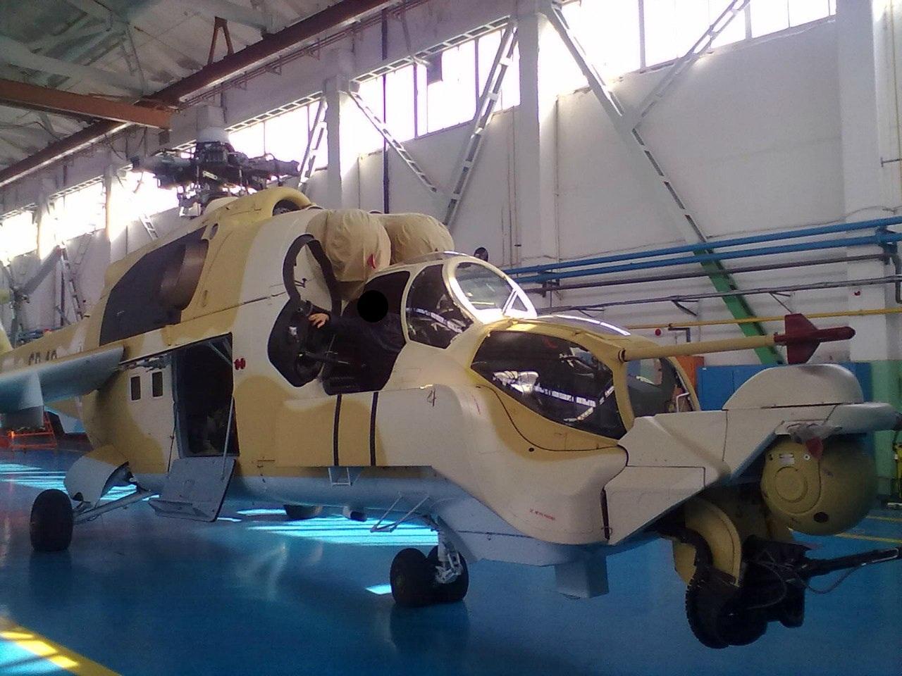 صور مروحيات Mi-24MKIII SuperHind الجزائرية 254786801