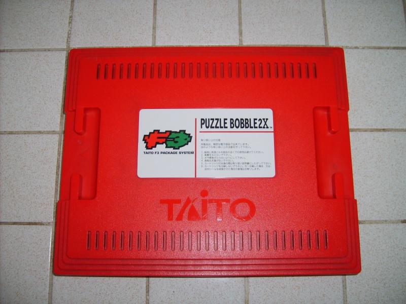 [VDS] Taito F3 Package System Jap avec 2 jeux, Puzzle Bobble 255337P2X