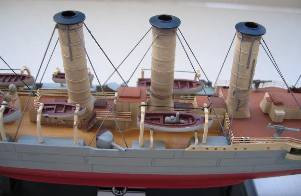 [Revell] Croiseur SMS Emden - 1/350. 256156Emden19