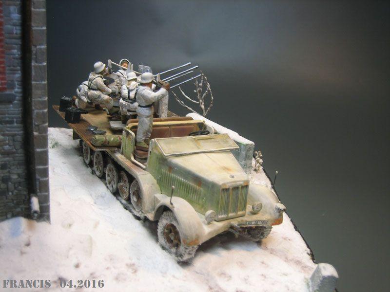 SdKfz 7/1 Flakvierling - Tamiya Miniart 1/35 256658Dio3703SdKfz71Vierli