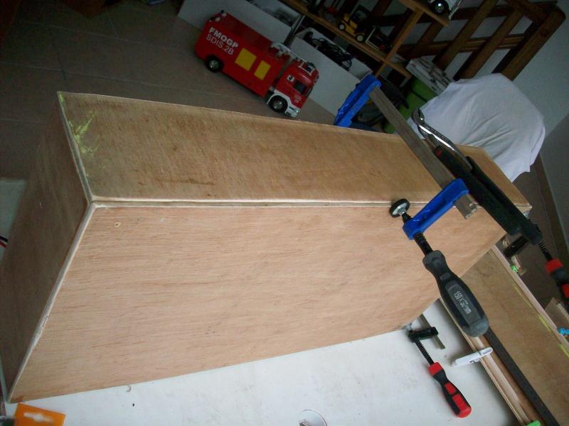 fabrication d'une caisse de transport pour le scania 2570591008848