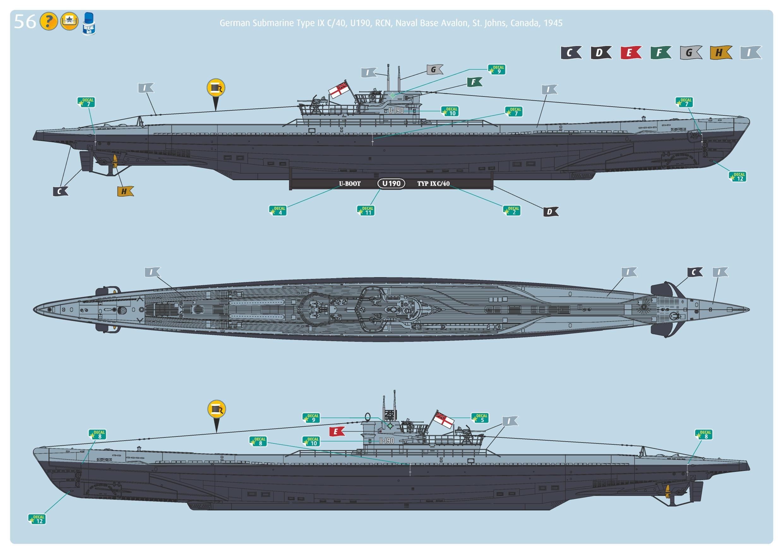 Revell U-Boot type IXC au 1/72ème 257235805133UbootIXcnouveau22