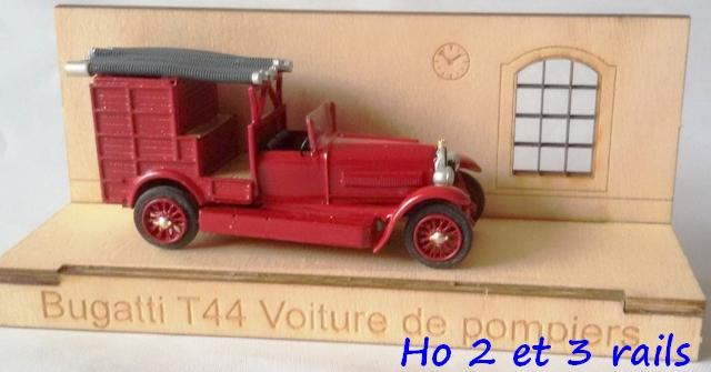 "Wagon porte autos Bugatti ""M. Fritz Schlumpf"" 257300CarbamodelCaBugattiT44WerksfeuerwehrR"