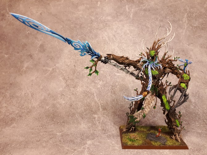Armée Elfes sylvains - Tree Revenants 258136Treeman11