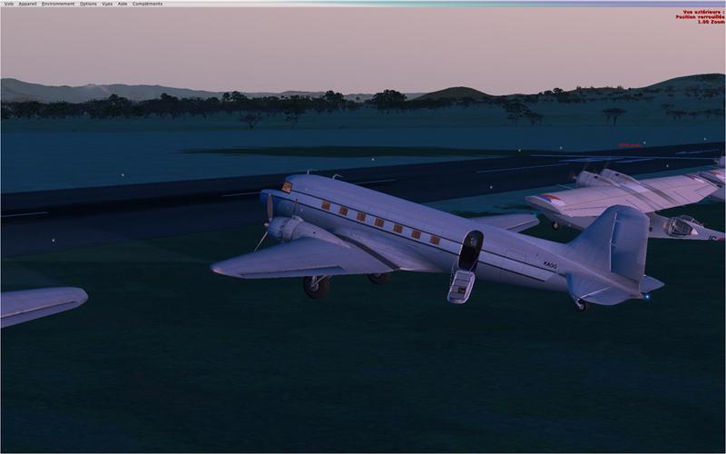 Vol en formation en Afrique (DC3) 258282201322220278474