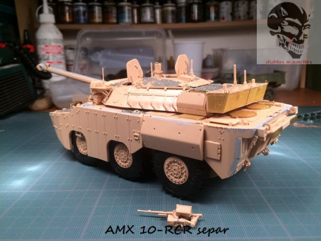 AMX 10 RCR SEPAR maquette Tiger Model 1/35 258345IMG3798