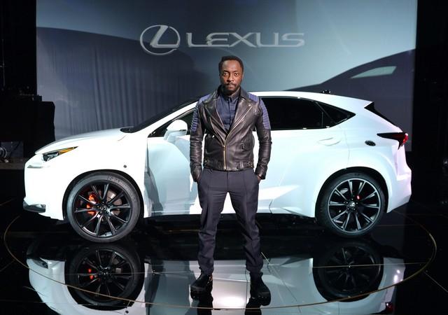 Un Lexus Déssiné Par WILL.I.AM Révélé Lors D'une Soirée Exclusive à Paris 258625LexusNX1