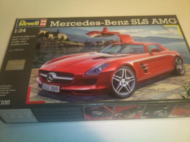 Voiture Mercedes-Benz SLS AMG  25874720130903211703