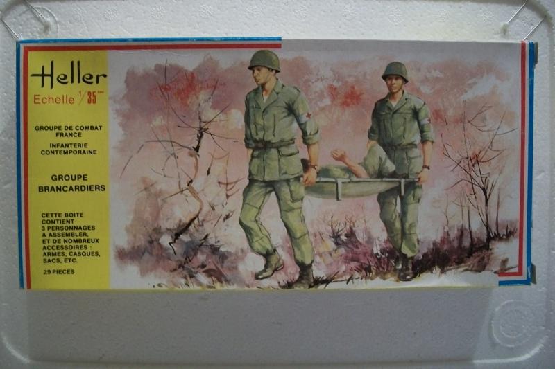 Groupe de Combat Français (Réf.134) Groupe Brancardiers 1/35 258906Heller134GCFBrancardiers135001