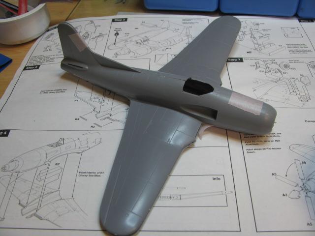 Ryan XF2R-1 Dark Shark Czech Model 1/48.....Terminé! 258977IMG8416