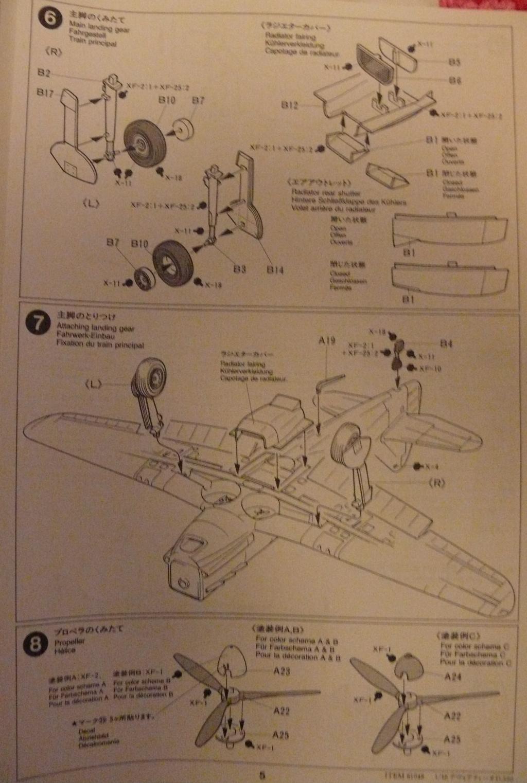 Dewoitine D.520 édition spéciale 1/48 Tamiya 259281D52007