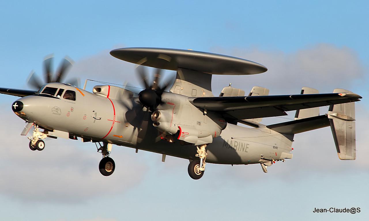Grumman Hawkeye EC-2 Marine Nationale le 22.11.12 259539IMG9418filtered