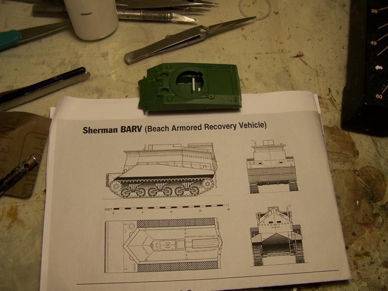 Sherman BARV Juno beach Secteur Nan Withe 06.06.44 partie 01 2600801007094