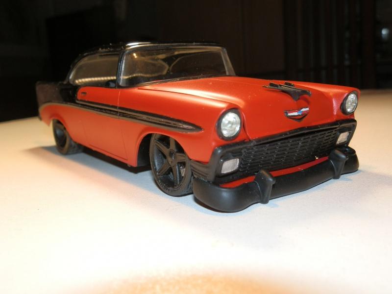 #47 : Chevy bel air 56 custom (TERMINEE) 260255P9305399