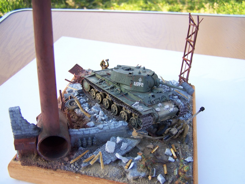 """Duel""  KV1c vs Panzergrenadiere Russie 42 2615751005507"