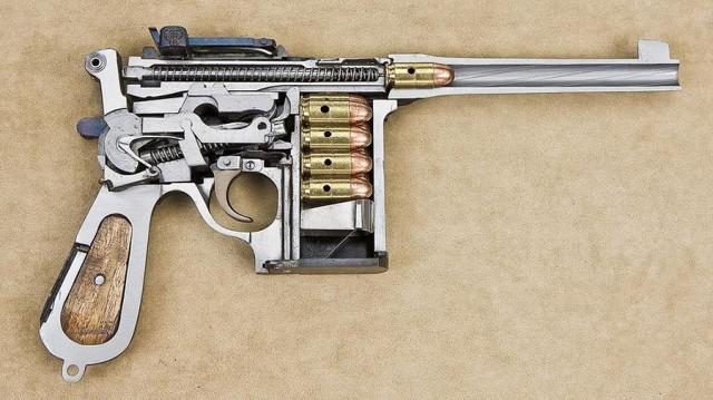 Mauser C96 : un de moins 261797C96