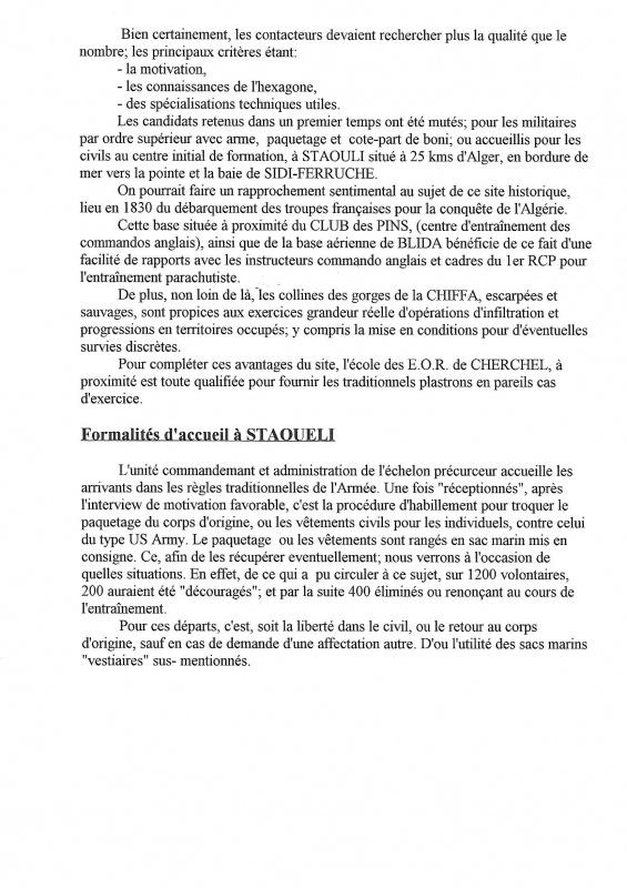 Le 1er Bataillon de Choc à STAOUELI en 1943  par Maurice DOUET (2002) 262023985