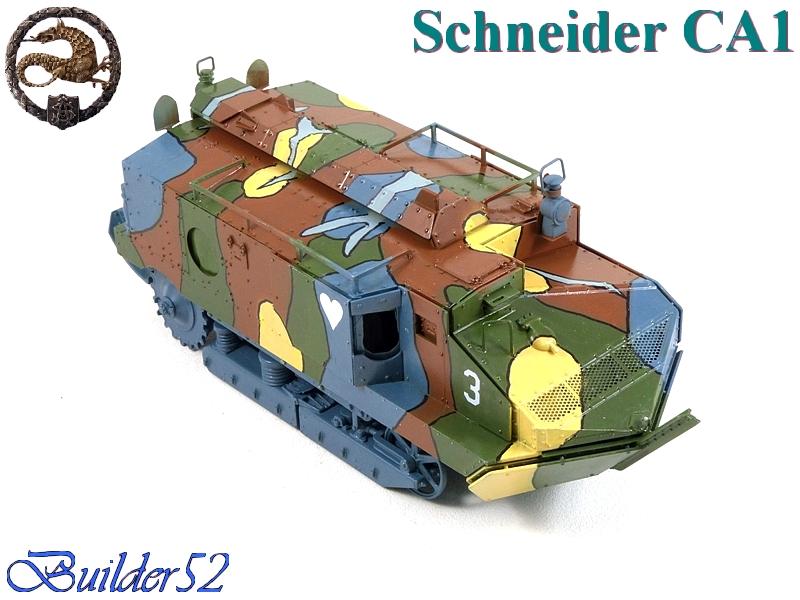 CHAR SCHNEIDER CA 1 - HOBBY BOSS 1/35 262335P1040952