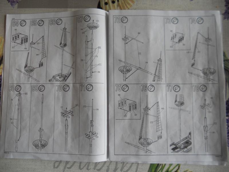 Pilgrim Ship MAYFLOWER Kit Revell au 1:83° 262858DSCN9547
