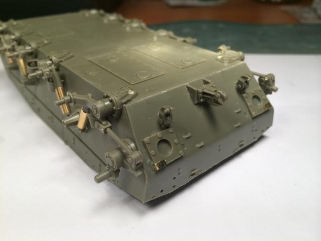 M24 Chaffee light tank, AFV Club 1/35 263831IMG35621
