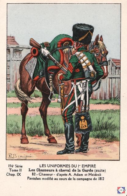 Les chasseurs à cheval de la Garde 263977ico228