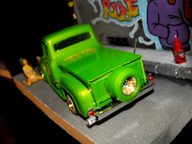 Ford F100 '55 lowrider greenfire (Terminé) 26467047q
