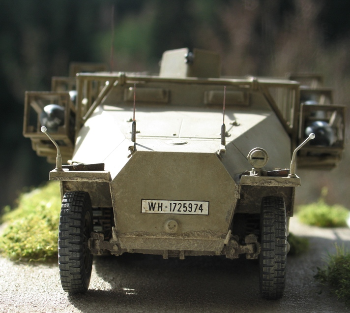 "sd kfz 251 ""stuka zu fuss"" Tamiya 1/35 264683modles128020"