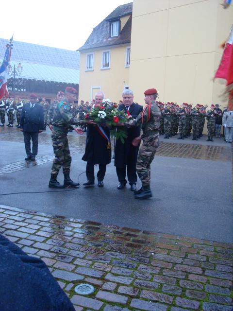 Jebsheim : 60 parachustistes du 1er RCP commémorent la libération de la Poche de Colmar 264916068