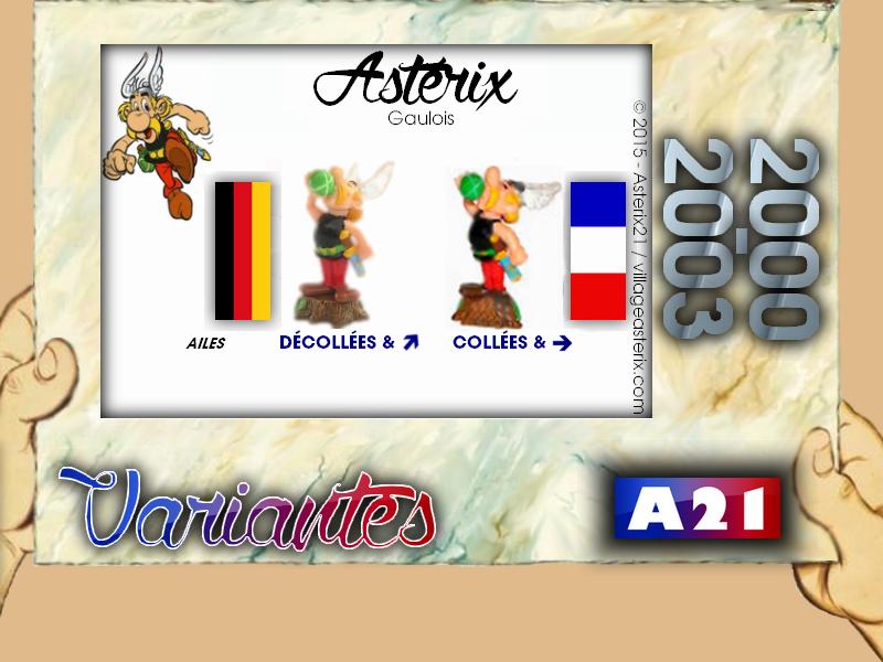 Astérix® les Variantes d'Hier et d'Aujourd'hui [Le Catalogue] 265511MarbreVariantesKinder20002003Astrix