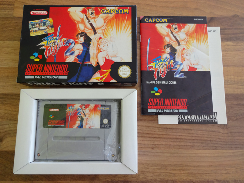 Prupru's Collection ! 100% Super Nintendo et 200% Super Comboy !! - Page 18 266169FinalFight2ESP