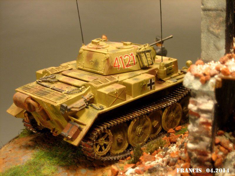 """Sdkfz 123  """" Luchs """"  ICM  1/35 266173Dio2911Luchs"""